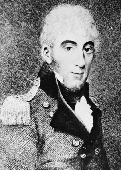 Colonel David Collins, 1756-1810, First Lieutenant Governor of Tasmania - David_Collins