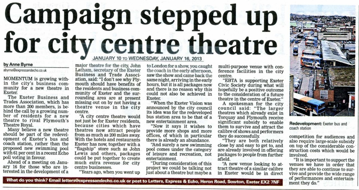 newspaper articles   exeter civic society exeter civic society